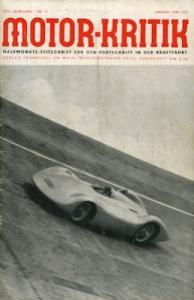 Motor-Kritik 1937 Heft 11