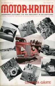 Motor-Kritik 1936 Heft 16