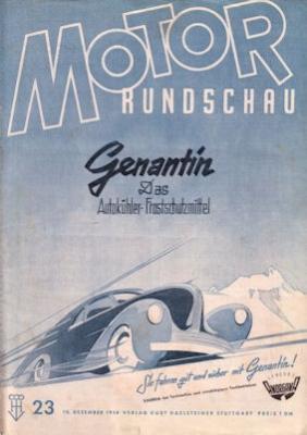 Motor Rundschau 1948 Heft 23