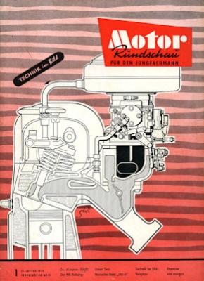 Motor Rundschau 1958 Heft