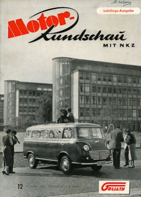 Motor Rundschau 1955 Heft 12