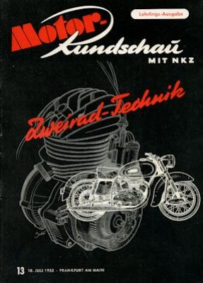 Motor Rundschau 1955 Heft 13 0