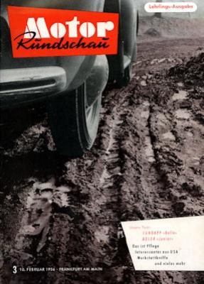 Motor Rundschau 1956 Heft 3