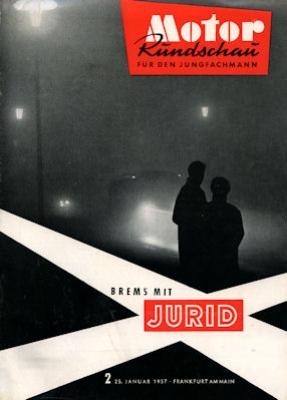 Motor Rundschau 1957 Heft 2