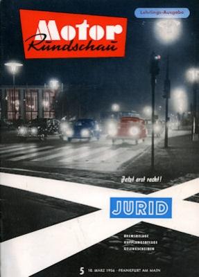 Motor Rundschau 1956 Heft 5