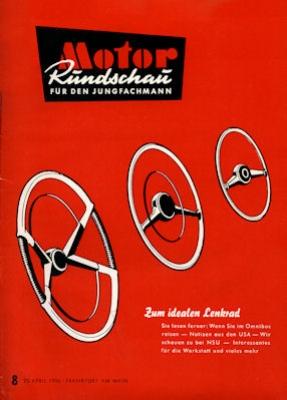 Motor Rundschau 1956 Heft 8 0