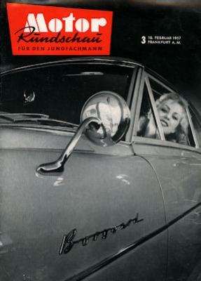 Motor Rundschau 1957 Heft 3