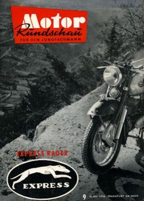 Motor Rundschau 1956 Heft 9