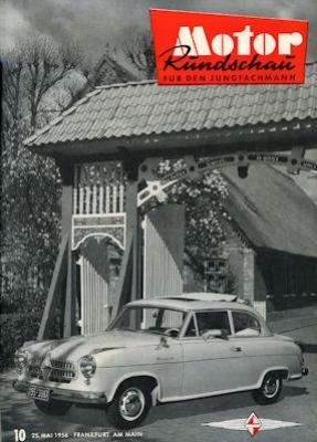 Motor Rundschau 1956 Heft 10