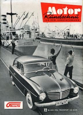 Motor Rundschau 1956 Heft 12
