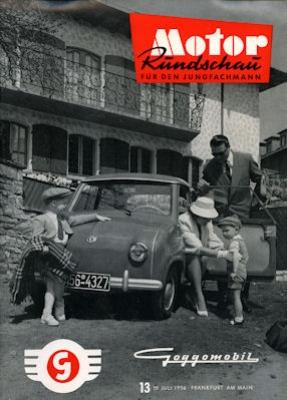 Motor Rundschau 1956 Heft 13
