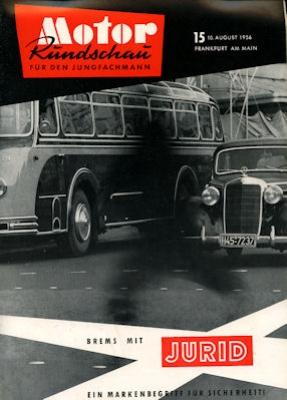 Motor Rundschau 1956 Heft 15