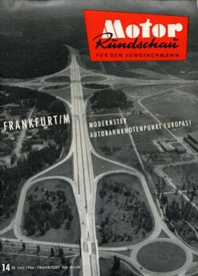 Motor Rundschau 1956 Heft 14