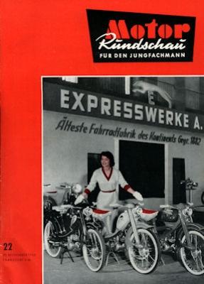 Motor Rundschau 1956 Heft 22