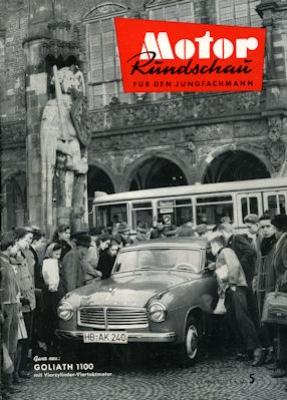 Motor Rundschau 1957 Heft 5