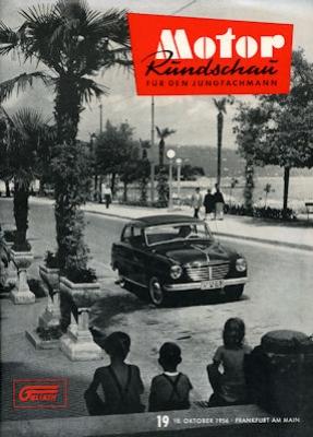 Motor Rundschau 1956 Heft 19