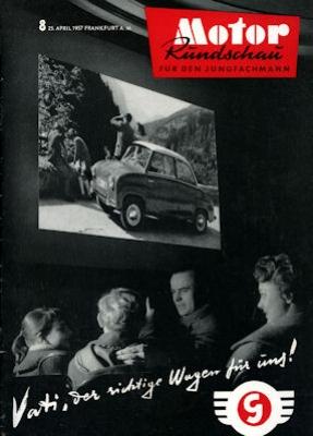 Motor Rundschau 1957 Heft 8