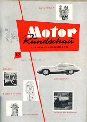 Motor Rundschau 1957 Heft 12