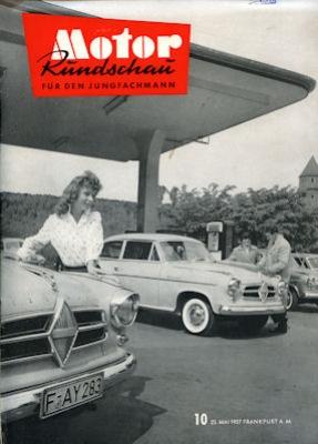 Motor Rundschau 1957 Heft 10