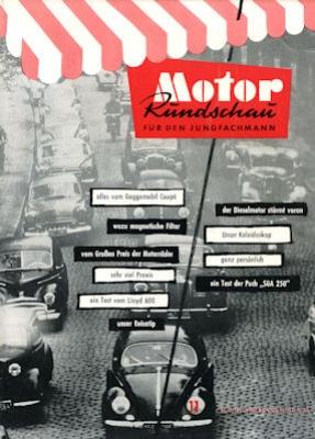 Motor Rundschau 1957 Heft 11