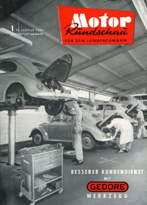 Motor Rundschau 1957 Heft 1