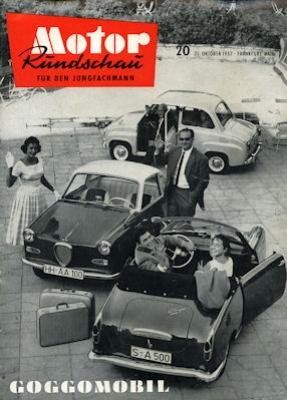 Motor Rundschau 1957 Heft 20