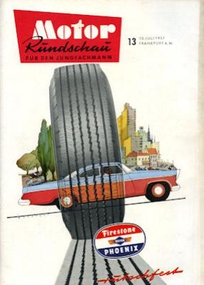 Motor Rundschau 1957 Heft 13