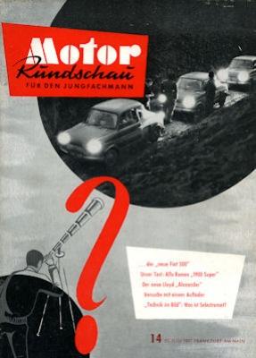 Motor Rundschau 1957 Heft 14