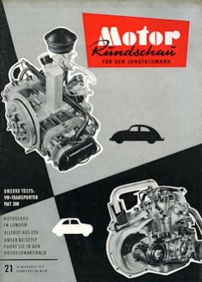 Motor Rundschau 1957 Heft 21