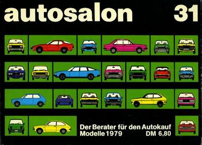 Autosalon in Buchform Nr. 31 1979