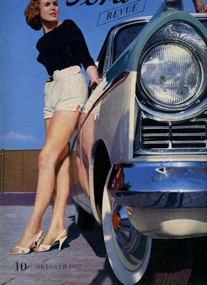 Ford Revue Heft 10.1957