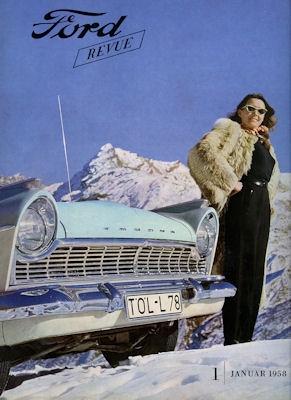 Ford Revue Heft 1.1958