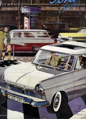 Ford Revue Heft 2.1958