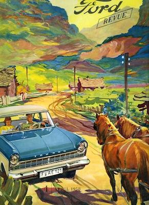 Ford Revue Heft 4.1958