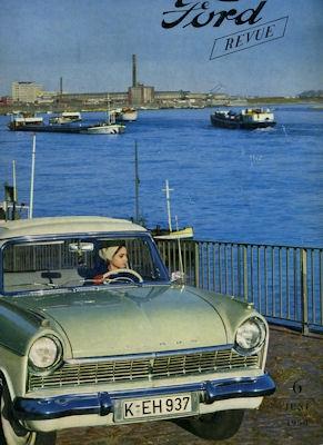 Ford Revue Heft 6.1958