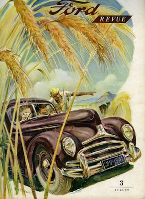 Ford Revue Heft 3.1950