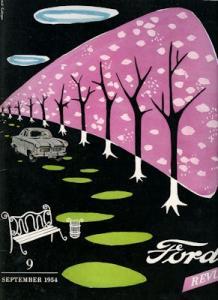 Ford Revue Heft 9.1954