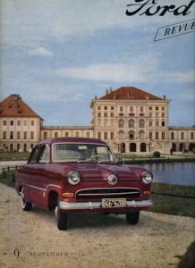 Ford Revue Heft 9.1955