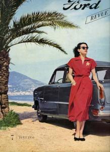 Ford Revue Heft 7.1956