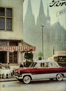 Ford Revue Heft 8.1956