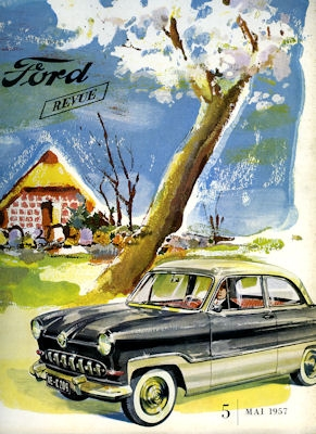 Ford Revue Heft 5.1957 0