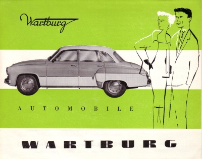 Wartburg 311 Prospekt ca. 1960