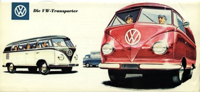 VW Bus / Transporter Prospekt 1950er Jahre 0