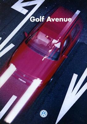VW Golf III Avenue Prospekt 9.1994