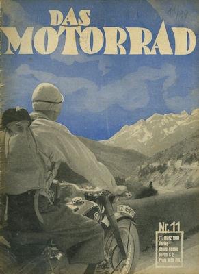 Das Motorrad 1939 Heft 11