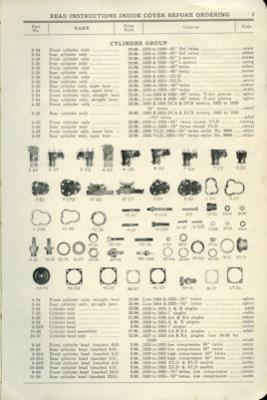 Harley-Davidson Ersatzteilliste 1926-1935 1