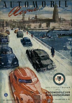 Automobil Revue 1950 Heft 5