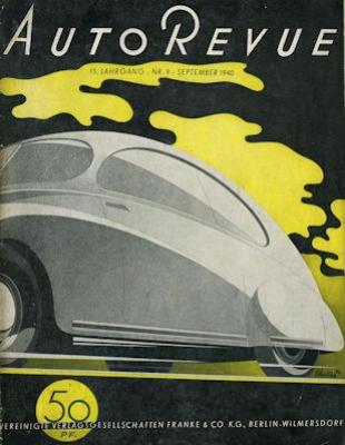 Auto Revue 1940 Heft 9
