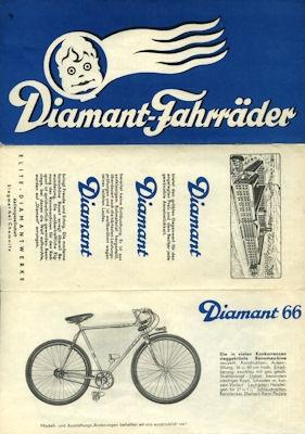 Diamant Fahrrad Programm 7.1934