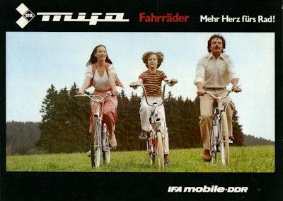 Mifa Fahrrad Programm 1982